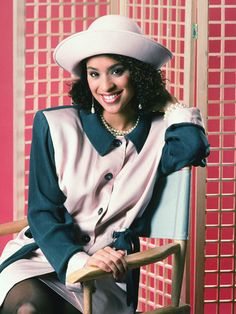 The Most Stylish TV Characters of All-Time: Karyn Parsons as Hilary Banks on The Fresh Prince of Bel-Air, circa 1990.