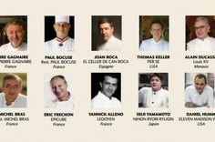 Cooqus | Los 100 mejores Chefs del Mundo