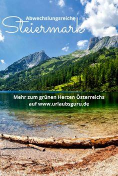 Wie wunderschön die Steiermark in Österreich ist, erfahrt ihr hier! Austria, Places To Visit, Wanderlust, Explore, Mountains, World, Travel, Sport, Fitness