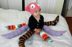 Make: Crazy Octopus Costume by momincdaily.com #DIY #Kids #Octopus #momincdaily