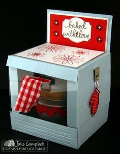 Oven treat holder - cupcake, cookies - bjl