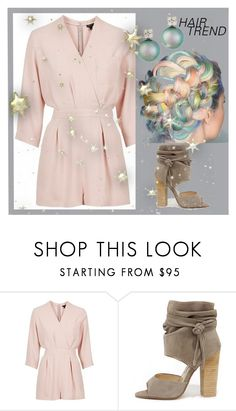 """""""Hair Trend: Ombre"""" by ellary-branden ❤ liked on Polyvore featuring beauty, Topshop, Kristin Cavallari and Belpearl"""