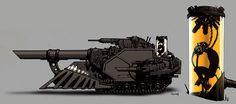 Vehicle Art. Psycher Tank