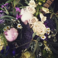 Foxglove, Feathers and Peonies
