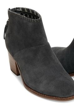 Our version of the ankle bootie starts with a stacked mid-heel and zips up the back. Designed in suede with a whipstitch accent, you'll wear this staple with everything from skirts to cuffed jeans. Work Fashion, Fashion Shoes, Fashion 2015, Cuffed Jeans, Celebrity Babies, Shoe Dazzle, Crazy Shoes, Vans Shoes, Ankle Booties