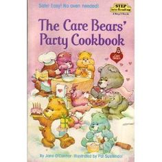 Care Bears Cookbook!  I had this when I was little.  My Nana and I made ice cream from this cookbook.....been looking forever for the recipe......