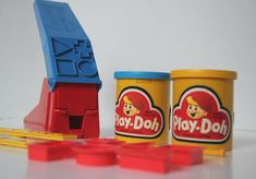 vintage playdoh fun factory!