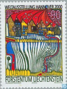 Postage Stamps - Liechtenstein - World Fair, Hannover