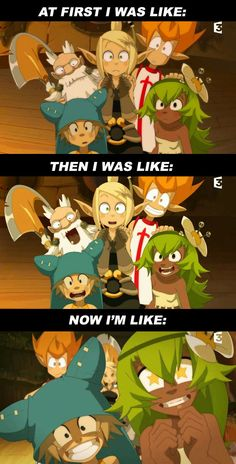 Me when I started watching the show.... xD