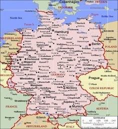 Map Bavaria Germany Bavaria Germany Pinterest Baden