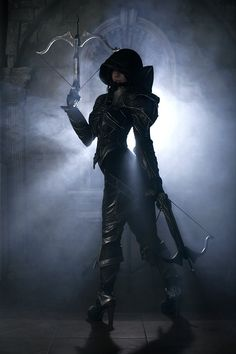 Awesome Demon Hunter Cosplay from Diablo 3!