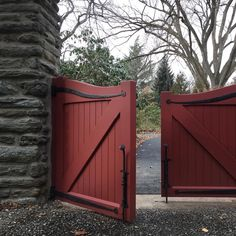 We are dreaming of opening day in May here on this overcast winter day at Stoneleigh. (Photo by Mae Axelrod) Gorgeous ironwork by blacksmith Luke DiBerardinis. Iron Work, Natural Garden, Opening Day, Winter Day, Acre, Home And Family, Photo And Video, Outdoor Decor, Instagram