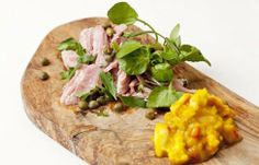 Laced with rustic touches like homemade piccalilli and a ham hock filling, Galton's terrine feels like it belongs to a different age - and all the better for it Piccalilli Recipes, Ham Hock Terrine, Pork Hock, Great British Chefs, Thing 1, Coriander Seeds, Beer Recipes, Ginger Beer, In The Flesh