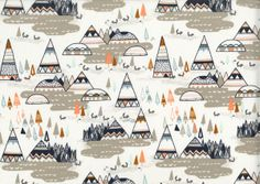 purl soho | item | indian summer (art gallery) fabric des. by sarah watson