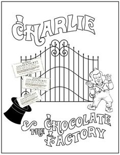 13 Best Charlie and The Chocolate Factory Unit images