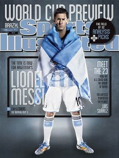 Argentina Lionel Messi, 2014 FIFA World Cup Preview Issue