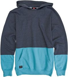 QUIKSILVER BLOCK IT DOWN PULLOVER FLEECE  Mens  Clothing  Hoodies | Swell.com