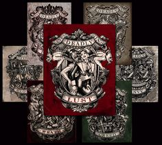 Deadly+Sins+Print+Set+by+Se7en+Deadly+