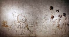The Oath in the Tennis Court - Jacques-Louis David