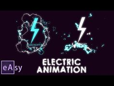 Electric animation | Easy After Effects Tutorial - YouTube