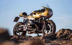 Download wallpapers Wunderlich, tuning, BMW R nineT Racer, 2017 bikes, custom bikes, german motorcycles, BMW