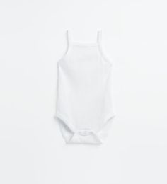 Image 2 of Pack of two strappy bodysuits from Zara