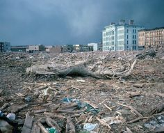 Bombed-out looking Bushwick, Brooklyn around 1981 --- Photographer, Meryl Meisler.
