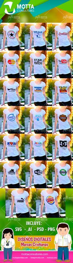 08a9a48eab DISEÑOS PARA CAMISETAS CRISTIANAS CON LOGOS DE MARCAS  camisetasmasculinas   camisetaestampada  camisetafeminina  camisetastop