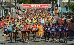 Check out these Cape Cod road Races! Runners take off from the starting line at last year's Falmouth road race. This year, the race will take place on August 21. Merrily Cassidy/Cape Cod Times