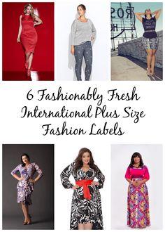 Plus Size Fashion: 6 Fashionably Fresh International Plus Size Fashion Labels