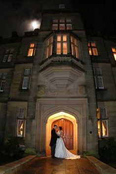 Entrance to the lobby & Great Hall at Matfen, my venue :-)