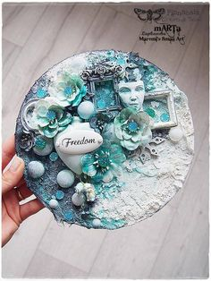 Created by Marta Łapkowska with Finnabair products