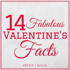 14 Fabulous Valentine's Facts   BYU Independent Study #BYUIS Blog Post, #Trivia #holidaytrivia Valentine's Day Facts Valentines Day Office, Valentines Day Trivia, Valentine Theme, Valentines Day Activities, Happy Valentines Day, Valentine Ideas, Printable Valentine, Facts For Kids, Fun Facts