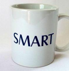 Smart Mug Education School Office Words Sayings Funny Humor Coffee Cup 10 oz #Smart