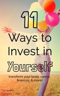 Love this list of ways to invest in yourself! I think this can be difficult for women and families but it's so important. These tips are a huge inspiration - and they're not all super expensive. You can afford it! There are ideas for fitness, health, care
