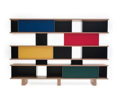 'Nuage' shelving system by Charlotte Perriand reissued by Cassina Dailytonic