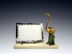French Art Deco Flamingo Photo-Frame 1930