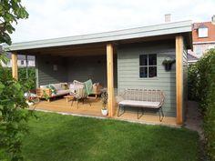 Home And Garden, Garden Design, Shed Design, Outdoor Decor, Garden Studio, Summer House, New Homes, Vacation Home, Patio Design