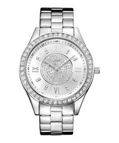 Mondrian diamond & Swarovski-set watch by JBW on secretsales.com