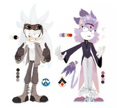 Fallout silver and blaze Sonic Funny, Sonic And Amy, Sonic Fan Art, Sonic Boom, Sonic The Hedgehog, Hedgehog Art, Silver The Hedgehog, Sonic Adventure, Rouge The Bat