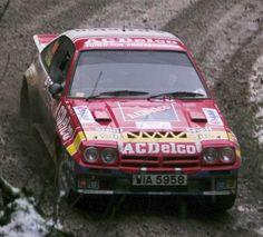germancarsblog: Opel Manta 400 rally car