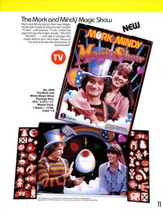 Mork and Mindy Colorforms