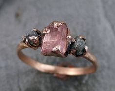 Our unique morganite engagement ring set is handmade in expert detail. This rose gold ring set features a luxurious morganite engagement ring with floral accents along either side of the band. Engagement Ring Rose Gold, Morganite Engagement, Vintage Engagement Rings, Raw Stone Engagement Rings, Raw Diamond Engagement Rings, Engagement Jewelry, Engagement Photos, Ring Set, Ring Verlobung