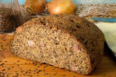 Speck-Zwiebel-Brot Low Carb und lecker