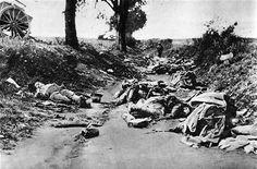 Gefallene deutsche Soldaten bei Missy-au-Bois