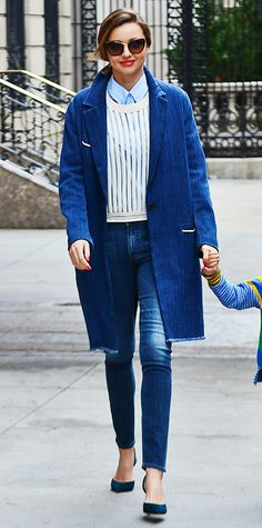 Look of the Day - April 9, 2014 - Miranda Kerr from #InStyle