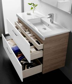 4 Things You Won't Miss Out If You Attend Roca Bathroom Cabinets - Roca Prisma Vanity Unit Roca Bathroom, Small Bathroom Vanities, Bathroom Faucets, Modern Bathroom, Master Bathroom, Master Baths, Bathroom Vanity Units Uk, Unit Bathroom, Modern Small Bathroom Design