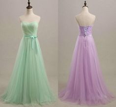 Lavender and Mint Green Wedding | Romantic-Mint-Green-Lavender-Tulle-Bridesmaid-Dresses-For-Wedding ...