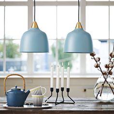 Superliving Lampe, Urban, Matt Mineral Blue