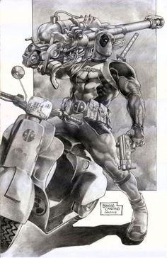 Deadpool  ???? Still looks cool though